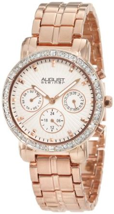 August Steiner Women's ASA841RG Swiss Quartz Multifunction Crystal Watch August Steiner http://smile.amazon.com/dp/B0078K3SF4/ref=cm_sw_r_pi_dp_mtl8vb1083HN5