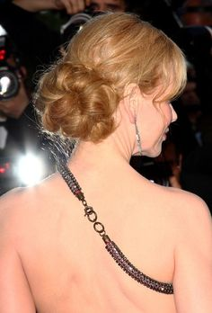 Stunning backless gown by Lanvin, seen here on Nicole Kidman.      Image by Bauer Griffin.