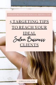 Grow your business and increase your sales in your salon business by tweaking your Facebook targeting. Let me guide you on how to attract your clients with my checklist or the 5Ps to help you get in front of the right people.