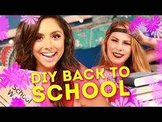 3 Easy Back To School DIY Hacks (PARODY) - YouTube
