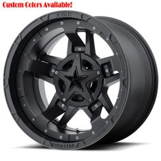20 inch All Black Wheels Rims Chevy Truck Jeep Wrangler JK Set 4 Jeep Renegade, Wheels And Tires, Car Wheels, Truck Rims And Tires, Accessoires 4x4, Dodge Ram 1500, Black Wheels, Lifted Ford, Lifted Ram
