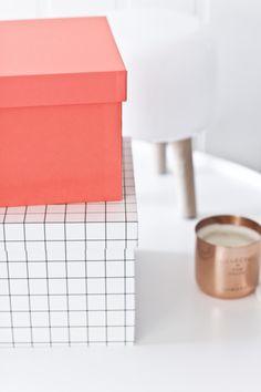 Via Fjellby | Hay Boxes |  Milk Lamp | Tom Dixon Tea Light