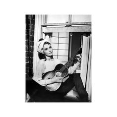 Audrey Hepburn. 'Breakfast At Tiffany's' 1961, Directed by Blake... ($30) ❤ liked on Polyvore featuring home, home decor, wall art, interior wall decor, mounted wall art, photography wall art and audrey hepburn wall art