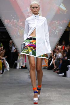 Fyodor Golan Ready To Wear Spring Summer 2015 London