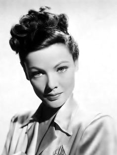 Gene Tierney Uploaded By www.1stand2ndtimearound.etsy.com