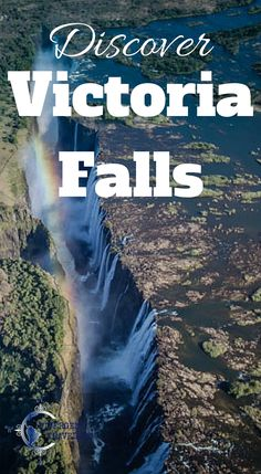 Discover Victoria Falls Zimbabwe Africa. Victoria Falls is one of the Seven Natural Wonders of the World. Statistically speaking, it is the largest waterfall in the world. This recognition comes from combining the height and width together to create the largest single sheet of flowing water. Even at a trickle, Victoria Falls is said to be magnificent. Click to read the full travel blog post at http://www.divergenttravelers.com/helicopter-flight-victoria-falls/