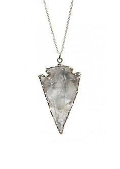 quartz arrowhead | kei jewelry