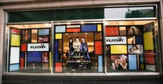 Storefront of Bloomingdale's Retail Store in Chicago, IL for #FNO @ Playboy Club TV Series promo.