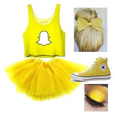 """""""Snapchat Halloween costume"""" by sydderboo on Polyvore featuring Converse Snapchat Halloween Costume, Snapchat Costume, Cute Group Halloween Costumes, Cute Costumes, Halloween Kostüm, Halloween Outfits, Costume Ideas, Cute Best Friend Costumes, Halloween Fashion"""