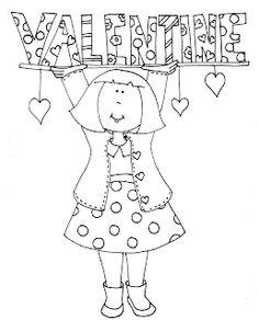 31 best valentine coloring sheets images on Pinterest