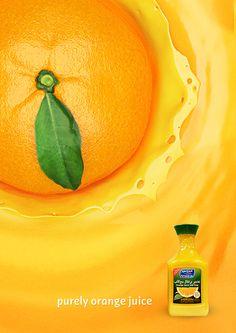 cgi orange juice ad.