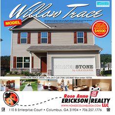 www.HomesColumbusGa.com New Construction Energy Star Certified Homes For Sale