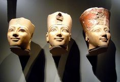 Dynasty 18, joint reign of Hatshepsut and Thutmose III (ca. 1473-1458 B.C.) Painted limestone From Thebes, originally from the main sanctuary of Hatshepsut's temple at Deir el-Bahri