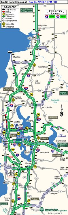 King 5 Traffic Map.340 Mile Range The Clover Pinboard X Pinterest Restaurants