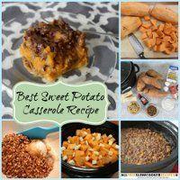 The Best Sweet Potato Casserole Recipe   AllFreeSlowCookerRecipes.com
