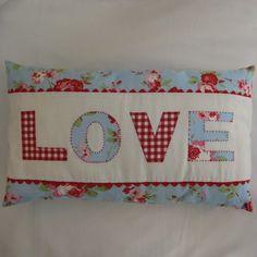 Applique cushions birds blue folksy sew happy handmade | Popular Crafts | Craft Juice