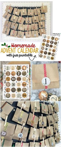 Advent Calendar Adults Diy : Images about printables on pinterest free