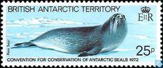 Postage Stamps - British Antarctic Territory - Antarctic Seals protection Congress