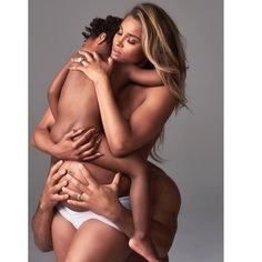 Ciara Russell Wilson cause stir with nearly nude family photo