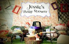 Mad Hatter Baby Shower - Bella Paris Designs