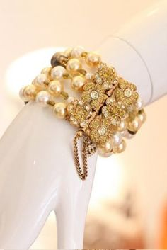 divine gold luscious bracelet - Living lusciously - more party inspiration on our Luscious website: http://mylusciouslife.com/photo-galleries/wining-dining-entertaining-and-celebrating/