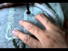 Classic sewing machine Art embroidery - YouTube - Vintage Machine Embroidery