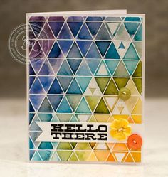 What an amazing high technique card by Jennifer McGuire! WOW!