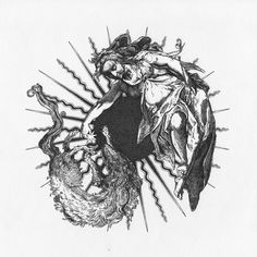 """Moon playing with wolf"" Artem Grigoryev Dark Art Illustrations, Illustration Art, Pennywise Tattoo, Traditional Style Tattoo, Dibujos Tattoo, Mythology Tattoos, Aesthetic Tattoo, Elegant Tattoos, Zombie Art"