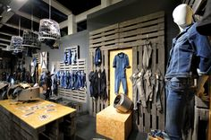 PANORAMA Berlin 2015 Winter – CAMP DAVID & SOCCX DENIM » Retail Design Blog