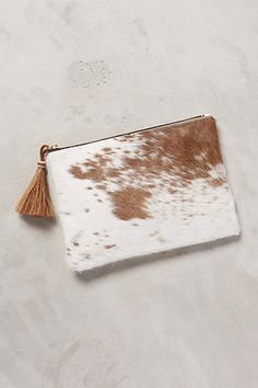 Cedar Calf Hair Clutch from Anthropologie - who wouldn't like something simple and pretty like this?