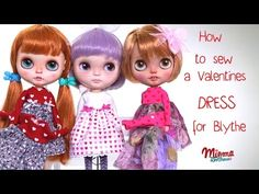 How to make a dress for Blythe dolls / Wie näht man ein Kleid für Blythe Puppen - YouTube