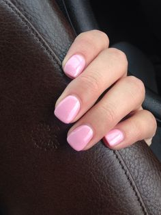 New nail colour...Jessica GELeration Rolling Rose