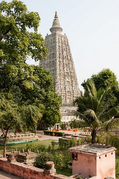 Siddhartha Gautama, the Buddha, was said to have achieved enlightenment at this spot in Bodh Gaya.