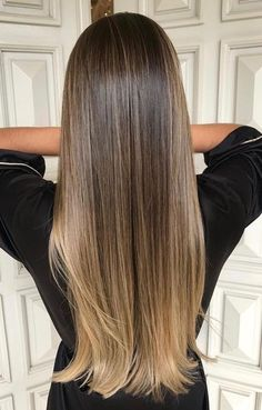 ombre hair. pretty long hair.