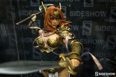 Marvel at Comic Con | Sideshow Collectibles Angela Premium Format Figure