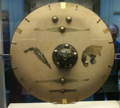 shield on display