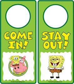 a lot more door hangers under this one of different themes