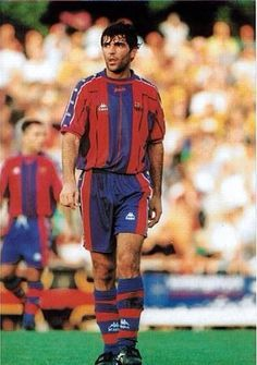 Miguel Ángel Nadal - Manacor, Real Mallorca, Barcelona, Spain. Miguel Angel, Good Soccer Players, Football Players, Fc Barcelona, Retro Football, Football Pictures, Messi, Coaching, Running