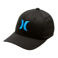Hurley – One & Only Blk Flxfit Boys Hat : For Kids