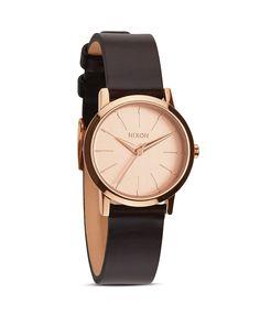 Nixon The Kenzi Leather Strap Watch, 26mm $125.00