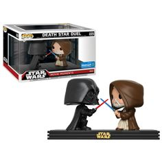 Funko POP! Star Wars: Movie Moments - Darth Vader vs. Obi Wan Kenobi Death Star