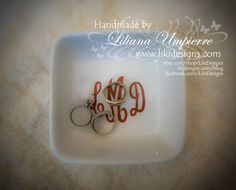 #personalized #ringholderdish by #LikiDesigns
