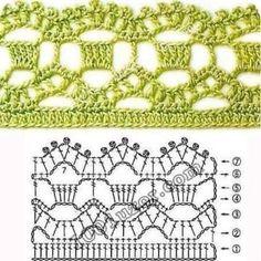Resultado de imagem para biquinho de croche
