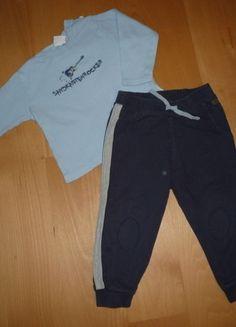 Kaufe meinen Artikel bei #Mamikreisel http://www.mamikreisel.de/kleidung-fur-jungs/sets-and-kombinationen/18540041-set-sandkastenrocker-langarmshirt-von-bornino-und-hose-von-babyclub