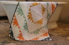 Delectable Mountains Quilt Pattern – A Fat Quarter Shop Hop – Late Night Quilter