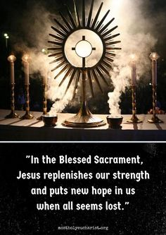 """Little sanctuaries of peace and grace, otherwise known as Perpetual Adoration Chapels, can now be found in almost every country where the Holy Catholic Church is present"" -MISSIONARIES OF THE MOST HOLY EUCHARIST. http://adorationrocks.com"