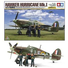 Tamiya Italeri Hawker Hurricane figures for sale online Tamiya Models, Hawker Hurricane, Boeing Aircraft, Model Airplanes, Plastic Models, Military Aircraft, Fighter Jets, Japan, Scale