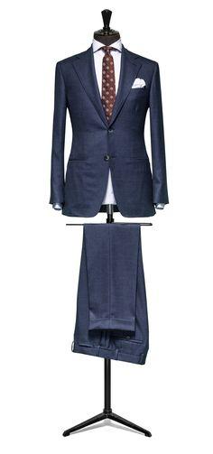 Blue suit Sharkskin wool and silk http://www.tailormadelondon.com/shop/tailored-suit-fabric-4341-sharkskin-blue/