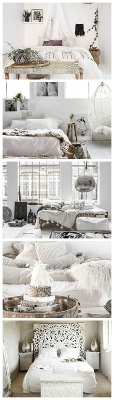 Bohemian Heaven {Frische Boho Chic Home Decor Inspiration} Bohemian Bedroom Decor Bohemian Boho Chic Decor frische Heaven Home Inspiration Home Decor Items, Cheap Home Decor, Home Design Decor, Interior Design, Design Ideas, Design Styles, Boho Chic Interior, Design Projects, Diy Design