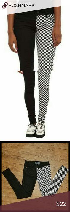 Royal Bones Split Leg Skinny Jeans Royal Bones skinny jeans. Great condition. Royal Bones Jeans Skinny